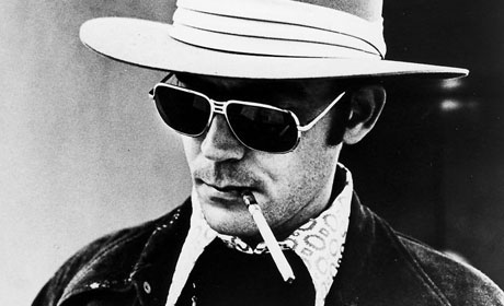 The iconic psychonaut. Hunter S. Thompson.