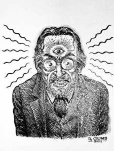 Absolute psychedelic genius. Robert Crumb.