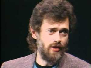 Terence McKenna in the 1980s.