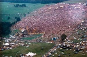 Was this a psychedelic society, or to the opposite, a betrayal of the idea of a psychedelic society. Woodstock, 1969.